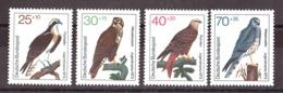 Allemagne - 1973 - N° 604 à 607 - Neufs ** - Pour La Jeunesse - Oiseaux - Rapaces - [7] République Fédérale