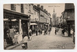 - CPA BERNAY (27) - Rue Thiers (belle Animation) - Collection Walter - - Bernay