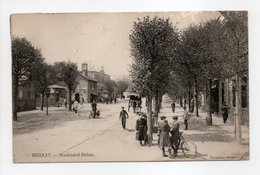 - CPA BERNAY (27) - Boulevard Dubus 1907 (belle Animation) - Collection Walter - - Bernay