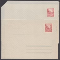 Mi-Nr. F1a,b, Faltbrief, Beide Papiervarianten, * - DDR