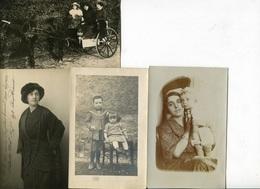 Italie 73 Savoie  Modane  4 Cartes  Photos De Angelique Tronel Institutrice à Modane 1912 1918 - Modane