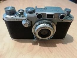 Rox  LEICA IIIF 1951/52 In Discrete Condizioni Con Custodia Originale - Fototoestellen