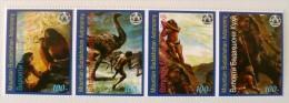 RUSSIE (ex URSS) Hommes Prehistoriques, 4 Valeurs Emis En 1996 **  MNH Neuf Sans Charniere (16) - Préhistoire