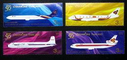 Thailand Stamp 2010 50th Ann Of Thai Airways International - Tailandia