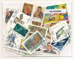 OFFER   Lot Stamp  Rusia 100 Sellos Diferentes Posterior Año 1991  (mixed Cond - Sellos