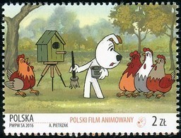 2016 Poland Polish Animated Film For Children Reksio Dog Animals MNH** - 1944-.... República