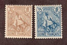 Guinée N°25,26 N* TB Cote 46 Euros !!! - Nuovi