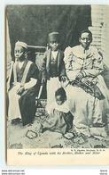 OUGANDA - The King Of Uganda With His Brother, Mother And Sister - Uganda