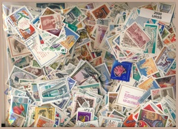 OFFER   Lot Stamp  Rusia 2000 Sellos Diferentes URSS  (mixed Condition) - Mezclas (min 1000 Sellos)