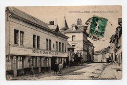 - CPA MONTFORT-SUR-RISLE (27) - L'Hôtel Du Grand Soleil D'Or 1916 - Collection Hauchard - - France