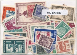OFFER   Lot Stamp  Sarre 100 Sellos Diferentes  (mixed Condition) - Sellos