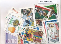 OFFER   Lot Stamp  Senegal 100 Sellos Diferentes  (mixed Condition) - Sellos