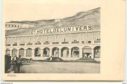 YEMEN - ADEN - Grand Hotel De L'Univers - Yemen
