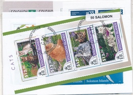 OFFER   Lot Stamp  Salomón 50 Sellos Diferentes  (mixed Condition) - Stamps
