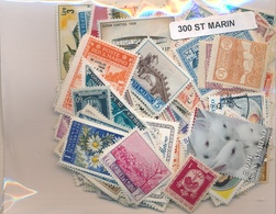 OFFER   Lot Stamp  San Marino 300 Sellos Diferentes  (mixed Condition) - Sellos