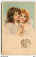 Bonne Fête - Deux Anges Priant - Anges