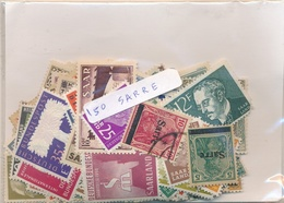 OFFER   Lot Stamp  Sarre 150 Sellos Diferentes  (mixed Condition) - Sellos