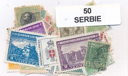 OFFER   Lot Stamp  Serbia 50 Sellos Diferentes  (mixed Condition) - Sellos