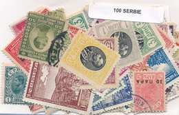 OFFER   Lot Stamp  Serbia 100 Sellos Diferentes  (mixed Condition) - Sellos
