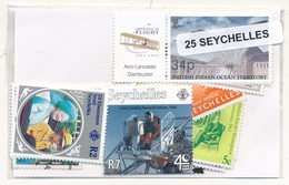 OFFER   Lot Stamp  Seychelles 25 Sellos Diferentes  (mixed Condition) - Sellos