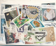 OFFER   Lot Stamp  Sharjah 200 Sellos Diferentes  (mixed Condition) - Sellos