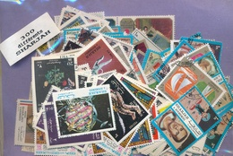 OFFER   Lot Stamp  Sharjah 300 Sellos Diferentes  (mixed Condition) - Sellos