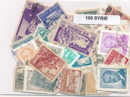 OFFER   Lot Stamp  Siria 100 Sellos Diferentes  (mixed Condition) - Sellos
