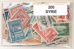 OFFER   Lot Stamp  Siria 200 Sellos Diferentes  (mixed Condition) - Sellos