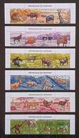 Burundi 1971; Animals & Fauna; Wildlife, Mammals, Lion, Zebra, Monkey; MNH, Neuf**, Postfrisch; - 1970-79: Neufs