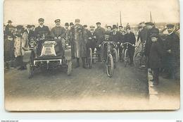 Carte-Photo - Course Auto Et Vélo - Sport Automobile