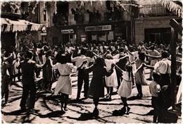 ANDORRA .. LES ESCALDES .. DANSANT LA SARDANA  ... 1952 - Andorre
