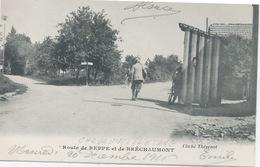 68  Chavannes-sur L'Etang : Route De Bréchaumont . - Frankreich