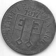 *notgeld  Uerdingen 5 Pfennig  1917 Zn   554.1 - [ 2] 1871-1918 : Empire Allemand