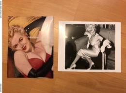 2 Photos Marilyn Monroe - Foto's