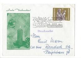 22893- Christkindl 1972 Froche Weihnachten Pour Rorschach 15.12.1972 - Noël