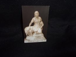 Arts. Sculptures .L' Adieu Au Troupeau.A. Maillard .Jeanne D ' Arc.Salon De Paris .Carte Photo.  2 Scans. - Sculptures
