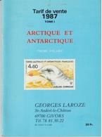 CATALOGUE LAROZE 1987 - TIMBRES ARCTIQUE ET ANTARCTIQUE - THEME POLAIRE - Timbres