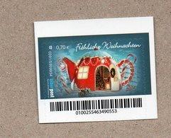BRD - Privatpost -  Biberpost   - Fröhliche Weihnachten 2019 - Mushrooms