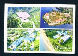 RWANDA - Resorts Multi View Unused Postcard As Scans - Rwanda