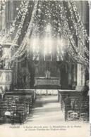 CPA 53 Mayenne Plessé L'Eglise Décorée Pour La Bénédiction De La Statue De Sainte Thérèse De L'Enfant Jésus - France