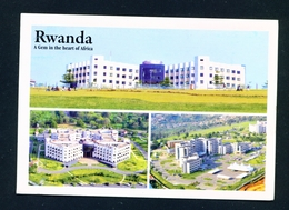 RWANDA - Kigali Multi View Unused Postcard As Scans - Rwanda