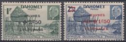 N° 153 Et N° 154 - X X - ( C 426 ) - Dahomey (1899-1944)