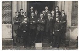 LEUVEN Fotokaart Studenten Geneeskunde Etudiants En Médecine 1910 1911 Universiteit KUL -  Louvain Carte Photo UCL - Leuven