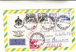 Independencia, Belèm To Genova, Italia. Cover 1978 - Brazilië