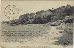 76 Sainte Adresse La Heve Vue De La Plage - Sainte Adresse