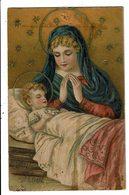 CPA-Carte Postale-France-Joyeux Noël- Marie Et L'enfant Jésus- VM9774 - Natale