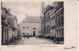 274726Groningen,  St. Jansstraat Met Kinderziekenhuis 1903 (diverse Gebreken, Zie Achterkant) - Groningen