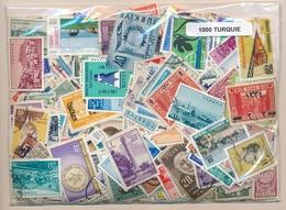 OFFER   Lot Stamp  Turquia 1000 Sellos Diferentes  (mixed Condition) - Mezclas (min 1000 Sellos)