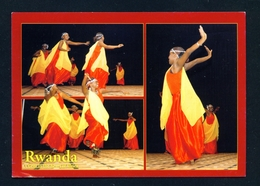RWANDA - Amaraba Dance Multi View Unused Postcard As Scans - Rwanda