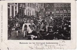 274778Groningen, Maskerade Van Het Groningsch Studentencorps (20 Sept. 1899)(diverse Gebreken) - Groningen